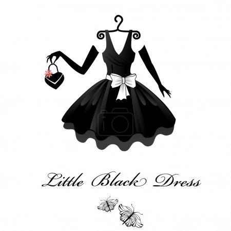 Illustration for Little Black Dresses - Royalty Free Image