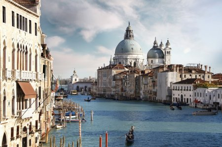 Lovely canals in Venice. Italy