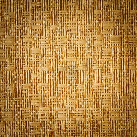 Vignette style straw mat texture background