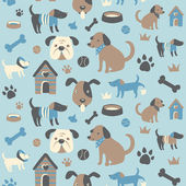 Doggy Collection: Seamless Pattern
