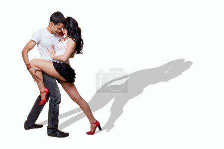 Photo pour Couple d'amoureux - image libre de droit