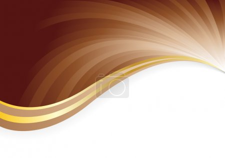 Illustration for Abstract chocolate background - Royalty Free Image