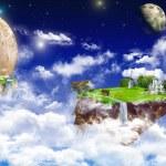 A little imagination. look in the utopian world....
