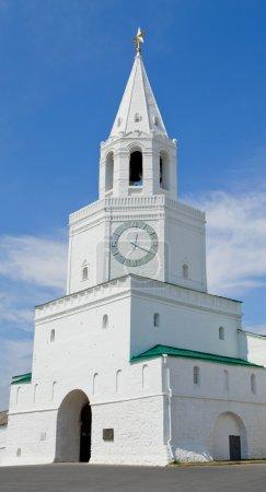 Spasskaya Tower of the Kazan Kremlin.