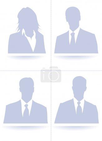 Default avatar collection