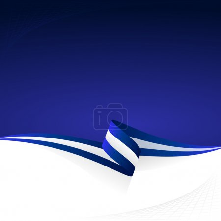Blue white blue