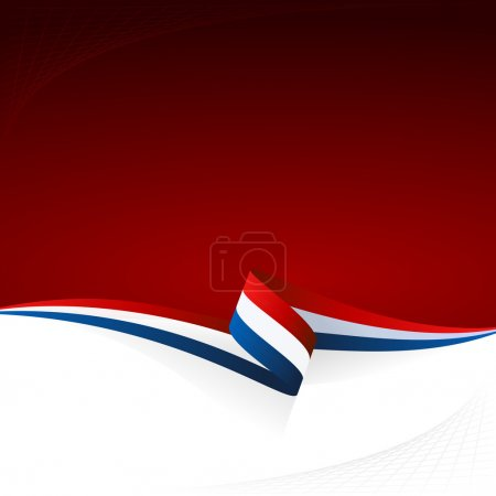 Illustration for Abstract color vector background French flag - Royalty Free Image