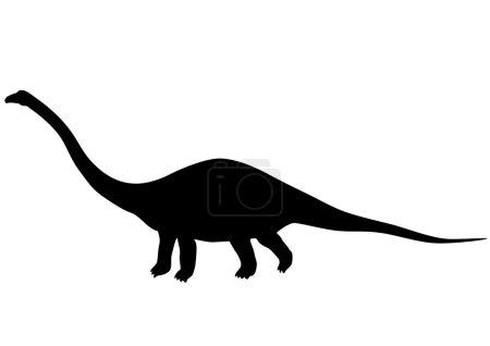 Diplodocus silhouette