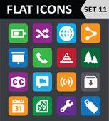 Universal Colorful Flat Icons Set 11