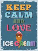 Retro Vintage Motivational Quote Poster Vector illustration