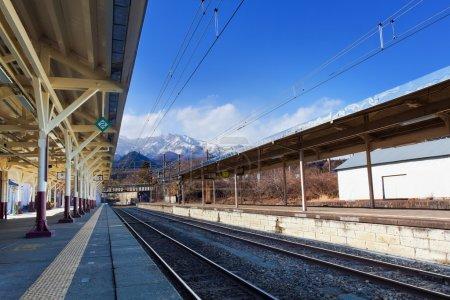 Nikko train station in Nikko