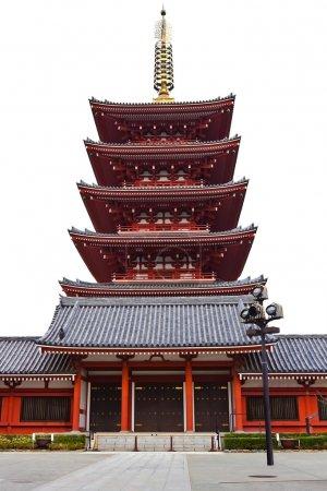 pagode du temple sensoji asakusa