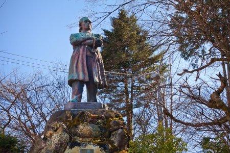 Itagaki Taisuke statue in Nikko, Japan