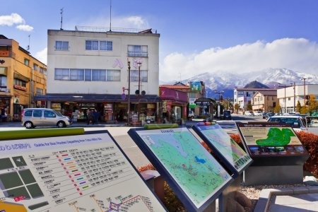 Nikko city in Japan