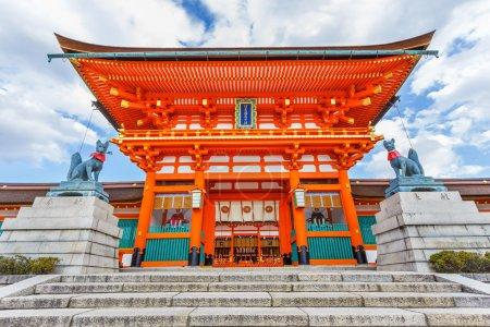 Fushimi Inari Taisha Shrine in Kyoto...