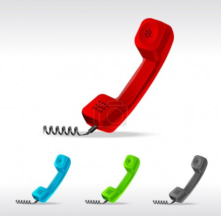 Vector phone receiver
