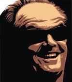 Jack Nicolson - my original caricature