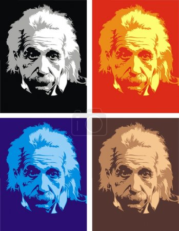 Альберт Эйнштейн мой оригинальный карикатура