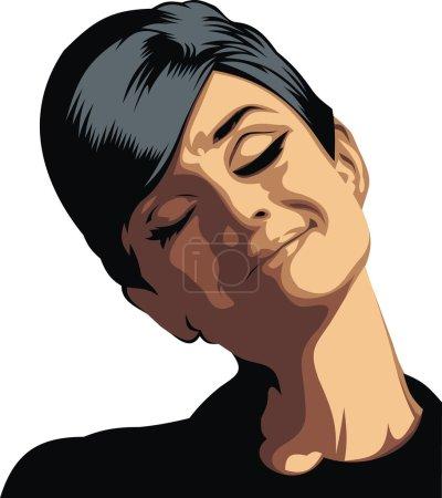 Одри Хепберн моя оригинальная карикатура