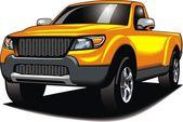 my original 4x4 car (my design) in yellow color