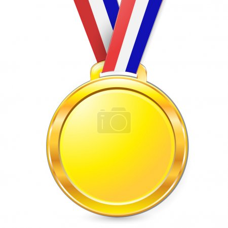 Illustration for Medal - Royalty Free Image