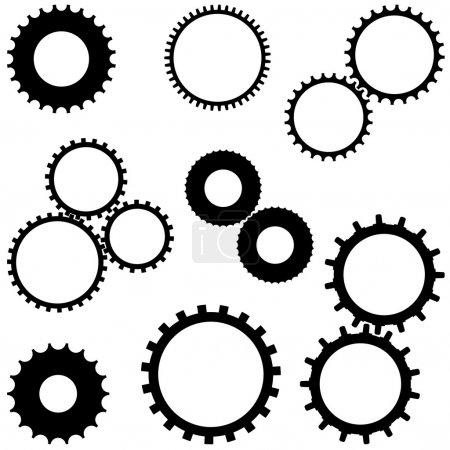 Illustration for Cogwheel - Royalty Free Image