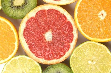 Sliced citruses
