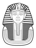 Vector illustration of pharaoh