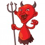 Devil Cartoon Illustration...