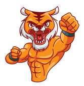 Illustration of tiger muscle