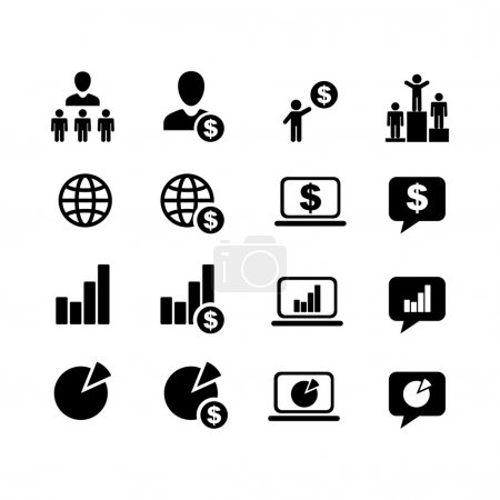 Business Pictogram.