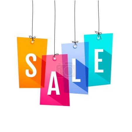 Ilustración de Etiquetas de precio. venta - Imagen libre de derechos