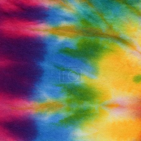 High resolution handmade tie dye fabric for texture and background