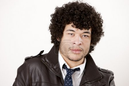 Image of young man of mixed race
