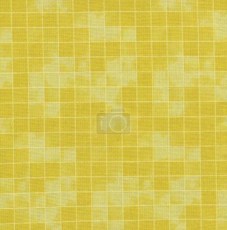 High resolution checked yellow pattern fabric for backgrounds
