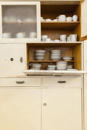 old european kitchen cupboard