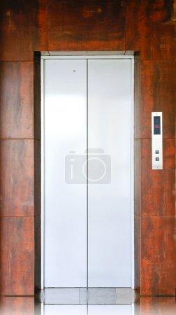 Closed elevator...