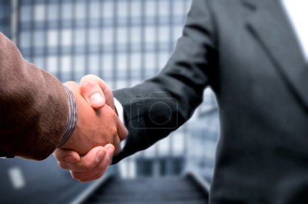 Photo for Handshake business concept - Royalty Free Image