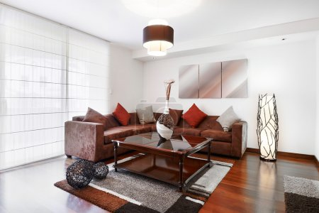 Photo for Interior design serires: living room - Royalty Free Image