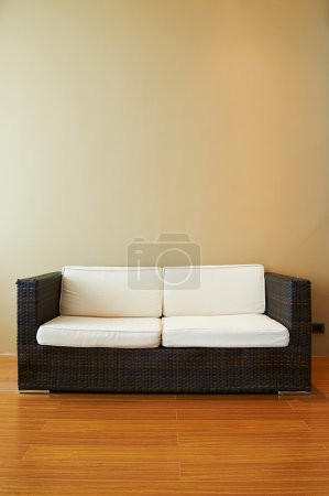 Photo for Sofa in empty living room - Royalty Free Image