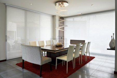Interior design: Modern dining room