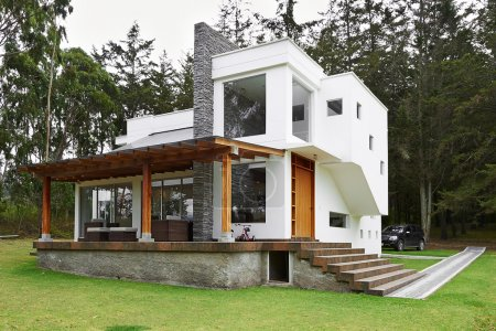 Photo for Big modern house - Royalty Free Image