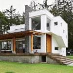 Big modern house...