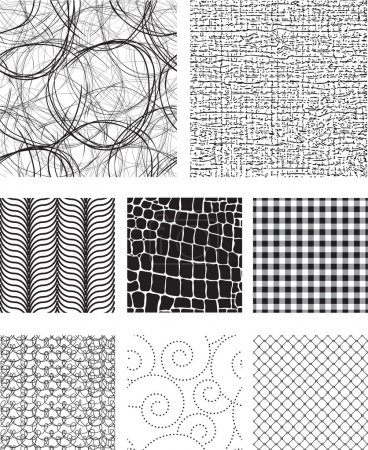 Illustration for Seamless Vector Pattern Fills & Textures. Use as fills, backgrounds or add to existing photos or vectors to add texture. - Royalty Free Image
