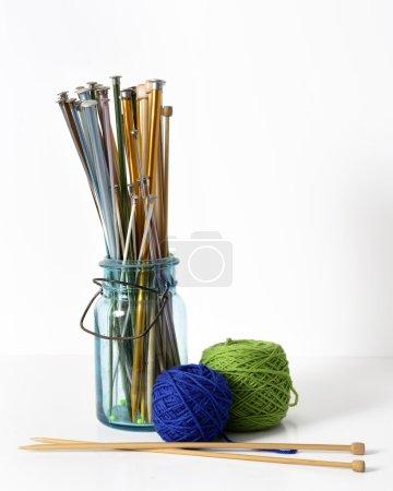 Knitting Needles and Yarn