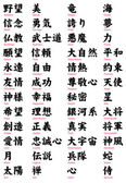 Japanese Kanji Tattoo words