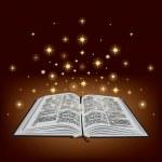 Holy Bible. Magic book. Vector...
