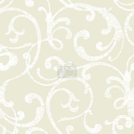 Elegance Seamless pattern with ornament