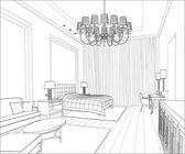 3D Graphical drawing interior
