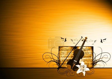 Violin bacground